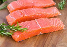 фермерский лосось
