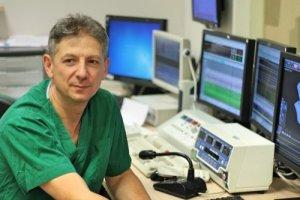 Профессор Давид Лурье в клинике
