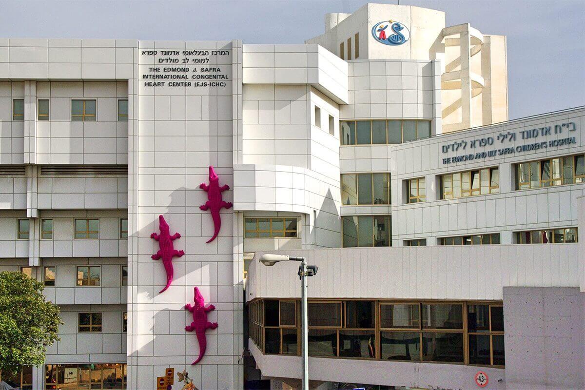Детская больница «Сафра» в Шиба
