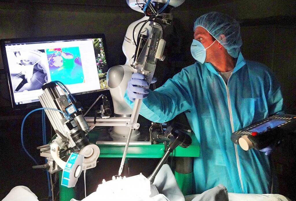 роботизированная детская урология